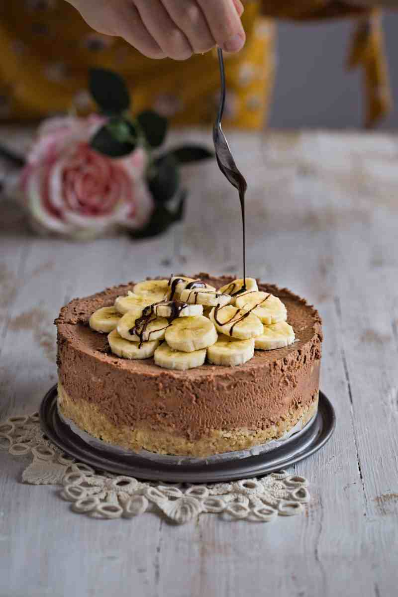 [:en]Chocolate Banana Mascarpone Cheesecake[:bg]Чийзкейк с шоколад, банани и маскарпоне[:]